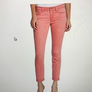 JESSICA SIMPSON ROLLED CROP SKINNY JEAN SIZE 8/29